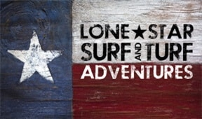 Lone Star Surf ang Turf Adventures Logo